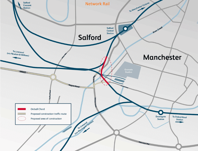 Network Rail, proposed Ordsall chord