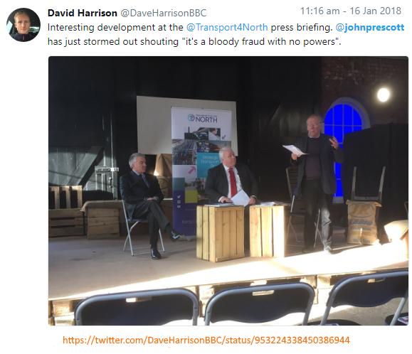 twitter @DaveHarrisonBBC, John Prescott bloody fraud